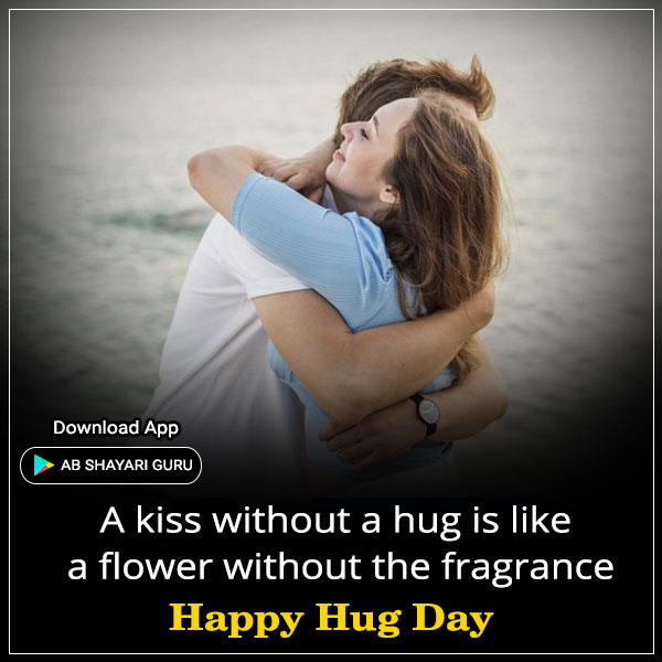 Happy Hug Day Status in English