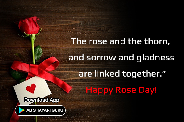 happy rose day status in english